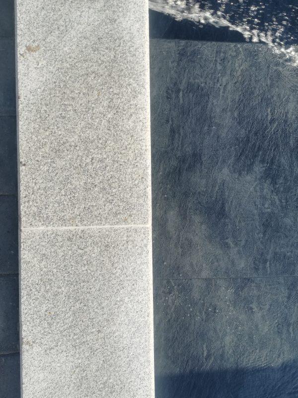 silver grey szürke gránit medence szegélykő 5